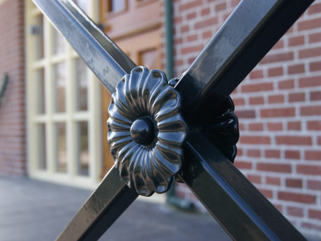 Detail van balustrade.